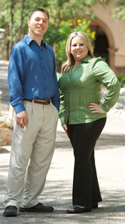 Photo by Soprannah Media - BEssential's CEO: Eric Brempell & President: Heather Strong Brempell